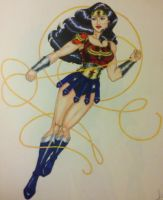New52 Wonder Woman Battle Armor by RayRay1127