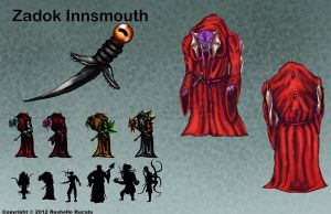 Zadok Innsmouth Character Sheet by TheDragonofDoom