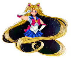 Fighting evil by moonlight! by WeeaBootaaaayyyyy