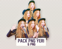 Pack PNG #139: Red Velvet's Yeri by jimikwon2518