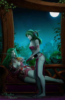 CM: Under the light of the goddess Elune... by Arcan-Anzas