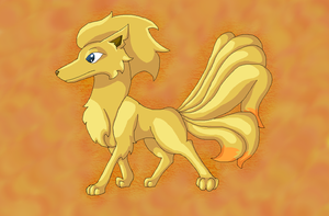 Wolk the Ninetales by Lydiadragon