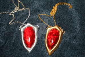 Devil May Cry Amulets by WingedFreeFaller