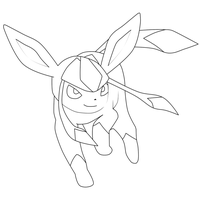 Pokemon Week day 3 Glaceon by HellStorm8000