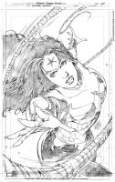 Wonder Woman pencils by geraldohsborges