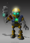 METAL ARMS GLITCH by TheIronParasite