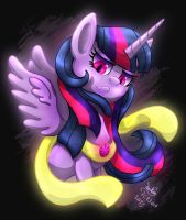 MLP FIM - Possessed Twilight Sparkle by Joakaha