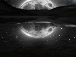 When The Moon Met The Lake by Charlie1016