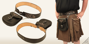 Celtic Kilt Belt by Marcusstratus