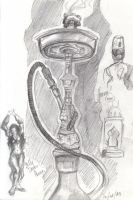 Hookah Bar Doodlin by alexa