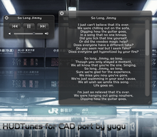 HUDTunes for CAD by yutianchang