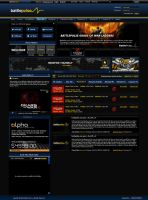 BattlePulse Gaming Site by JereKel