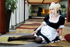 Saber Maid II by EnchantedCupcake