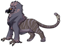 Bearded Vulture x Tiger - Design For Sale [OPEN] by Kingfisher-Gryphon