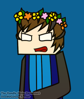 WitherMU Flower crown c: by The-Doodle-Ninja