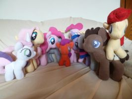 My little Pony- Friendship is Magic Plushies by Fluttershy103