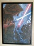 Star Wars cross stitch by 47X