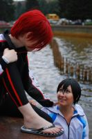 RinHaru cosplay 2 by Shiera13