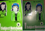Homestuck Notebooks - Leijons by Chyna-Angel-Girl