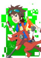 Mikey and Shoutmon by hentaisnail