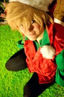 Christmas Elf Roxas - Sparkle by Midnight-Dance-Angel