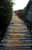 walkway to nowhere by hypermee