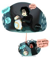 Why Kylo Ren never got his own droid by Dulcamarra