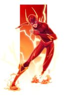 the Flash by zinkase
