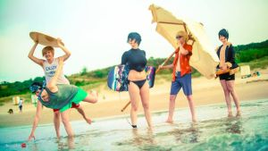 Durarara at the beach! by KellywoeshxD