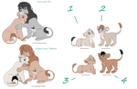 free Lion adoptables CLOSED by Jaytsa
