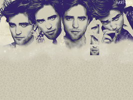 Robert Pattinson Wallpaper by sybil-virgo