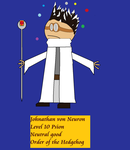 Order of the Stick Style Doctor von Neuron by Gatlinggundemon9