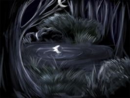 Speedpaint: Dark Forest by ShadowDragon22