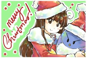 Day 344: MERRY CHRISTMAS by shortpinay