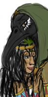 Thoth and Seshat by YOUR-PLAGUE-DOCTOR