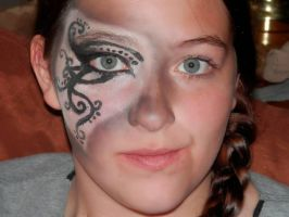 Black and White Makeup Mask at LeAnn's by Daylighter123