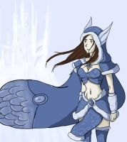 Crystal Maiden suits me, right ? X D by TheGreatJudge