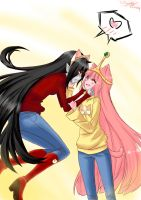 Cat Day Bubbline by Vonibuu