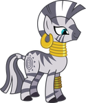 Smiling Zecora by Chezne