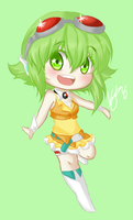 Chibi - Gumi by Rey-Of-Sunlight
