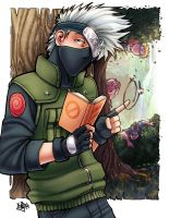 Kakashi And Team 7 digital color by ComfortLove
