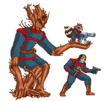 Guardians of the Galaxy by Countgate