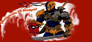 Deathstroke VS Deadpool by Hanz-Zimmer