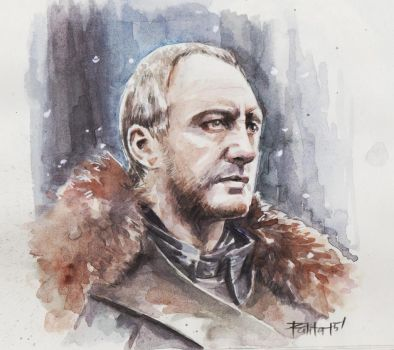 Roose Bolton by ermitanyongpalits