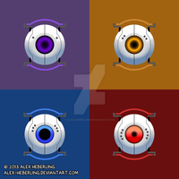 Personality Cores Pop by alex-heberling