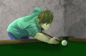 Free! Pool Table by Cloud-Purple