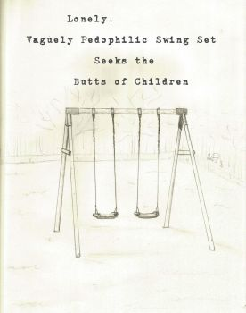 Swing Set For Sale by coo-coo-kachoo