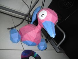Porygon2 papercraft by TimBauer92