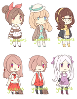 Adopt batch 3 (open) PRICE REDUCTION by yuubuns
