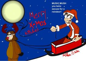 Merry CHristmas scumbags by MiketheMike